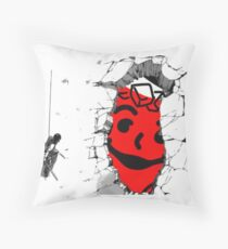 Attack on Kool-Aid Throw Pillow
