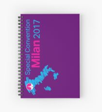 Italy Special Convention: Milan 2017 Spiral Notebook