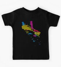 Colors - Computer Graphic Art Kids T-Shirt
