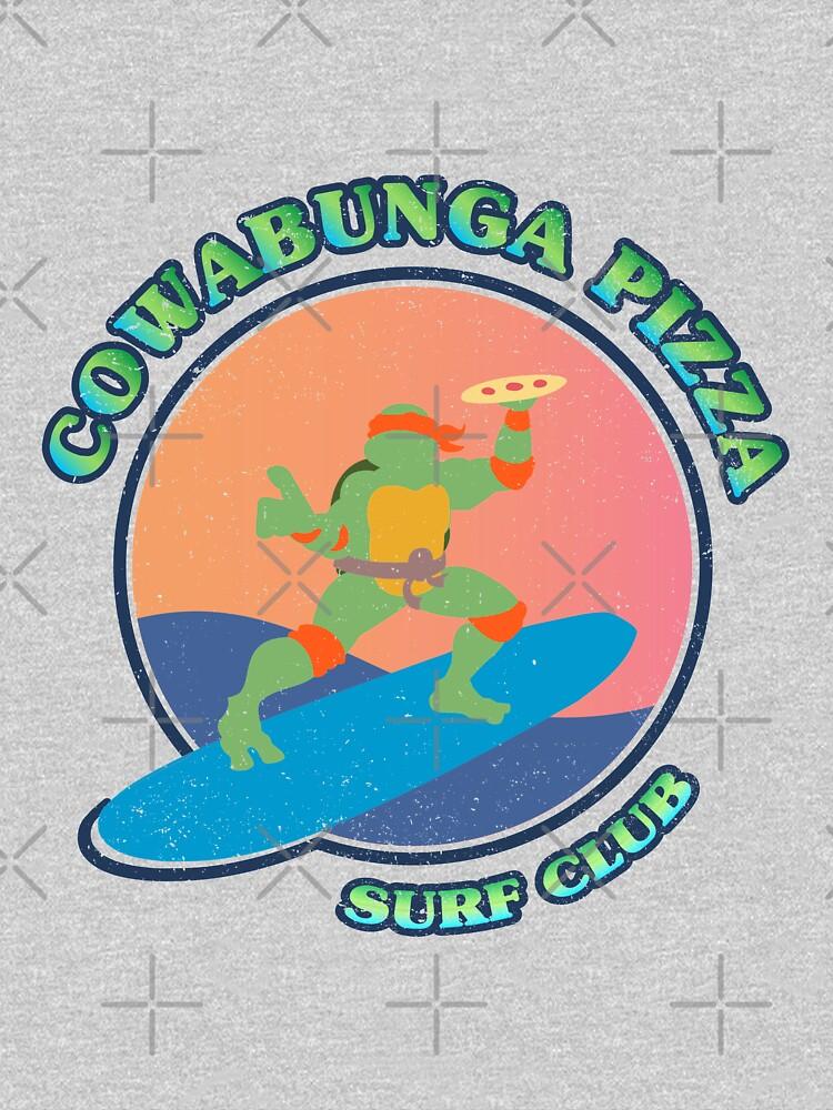 COWABUNGA PIZZA SURF CLUB de refritomix