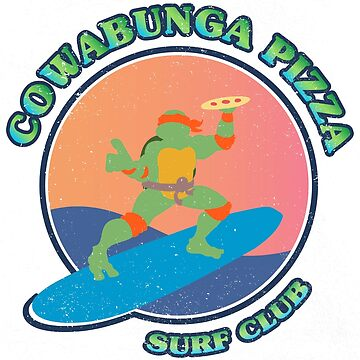 COWABUNGA PIZZA SURF CLUB de refritomix