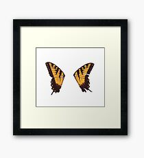 Paramore Butterfly Framed Print