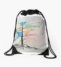 Sunlight Bench Drawstring Bag