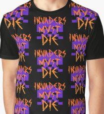 INVADERS MUST DIE II Graphic T-Shirt