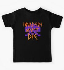 INVADERS MUST DIE II Kids Clothes