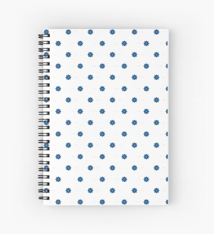 NDVH Flowers Spiral Notebook