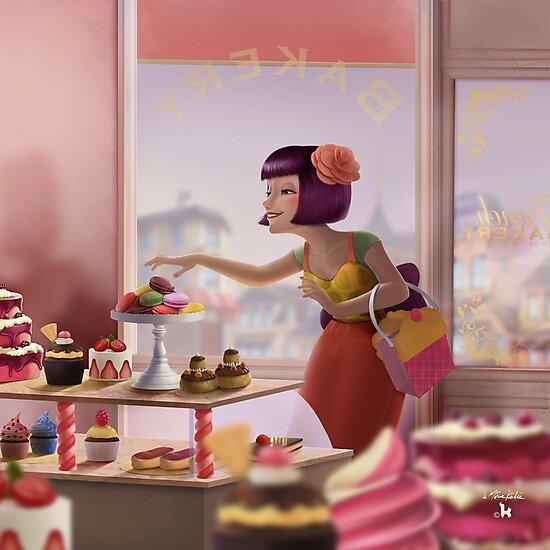 French Bakery by lemomekeke