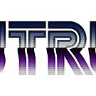Outrun Retro Text - VHS Effect by Henry Aldridge