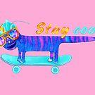 «Cat Stay cool» de Ruta Dumalakaite