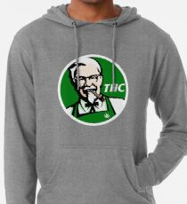 Sudadera con capucha ligera KFC PARODY THC Weed.