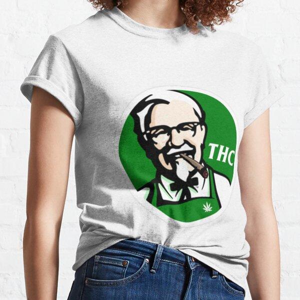 KFC PARODY THC Weed. Classic T-Shirt