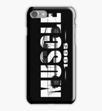 1965 Ford Mustang Fastback iPhone Case/Skin