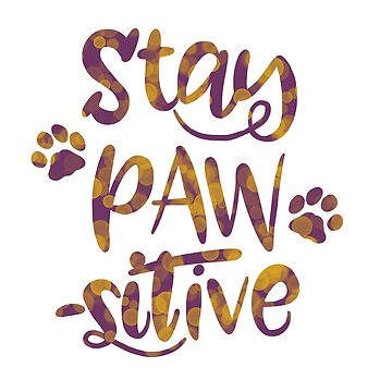 Stay Pawsitive by ketchambr