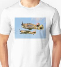 Three Hurricane Is at Old Warden Unisex T-Shirt