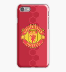 Manchester United - Red Logo iPhone Case/Skin