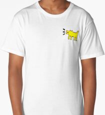 Yellow dog Long T-Shirt