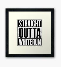 Skyrim - Straight Outta Whiterun Framed Print