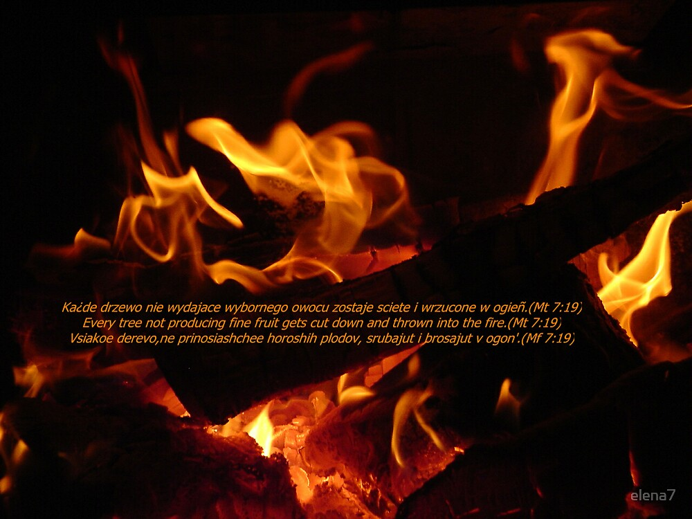 Dancing flames by elena7