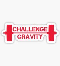 Challenge Gravity - Red Sticker