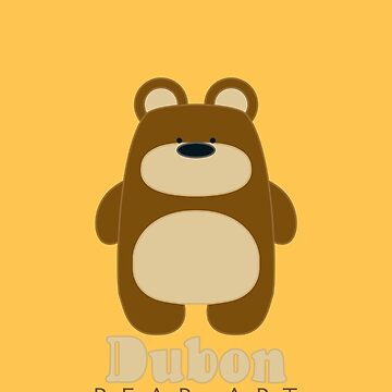 Dubon Bear Art - Pattern II by Dubon