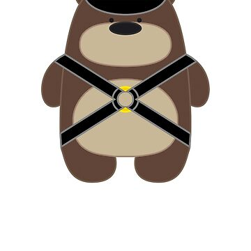 Bear Toy - Leather by Dubon