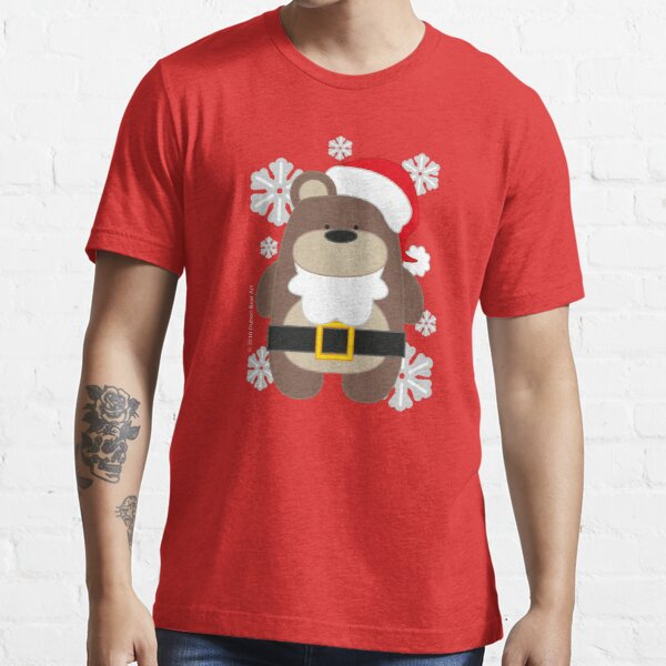 Santa Bear Essential T-Shirt
