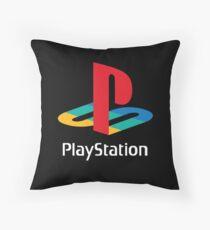Playstation - Logo Throw Pillow