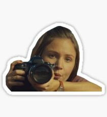 Waverly Earp with a camera Sticker