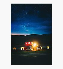 Midnight Motel Photographic Print