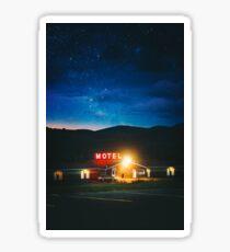 Midnight Motel Sticker