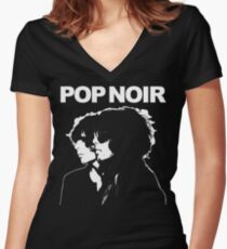 Young, Gifted and Noir Women's Fitted V-Neck T-Shirt
