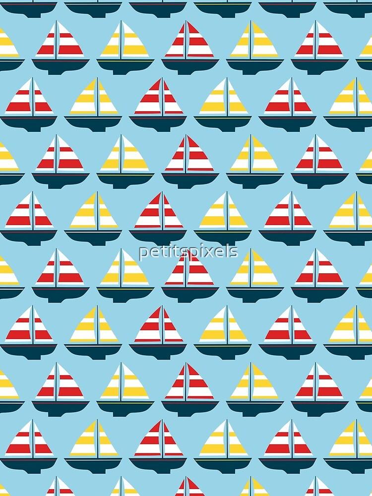 Little sailboats by petitspixels