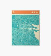 DUBLIN MAP Art Board