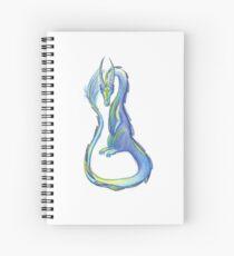 The Orange Eyed Lizard Spiral Notebook