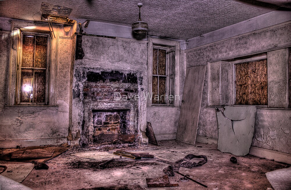 A Modern Living Room by Dave Warren