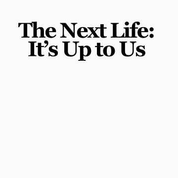 The Next Life: It's Up to Us by Kanapathy