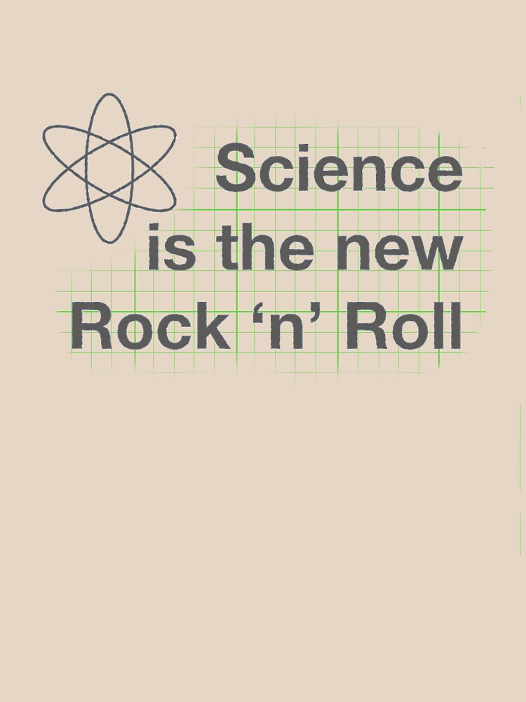 Science is the New Rock 'n' Roll | Unisex T-Shirt