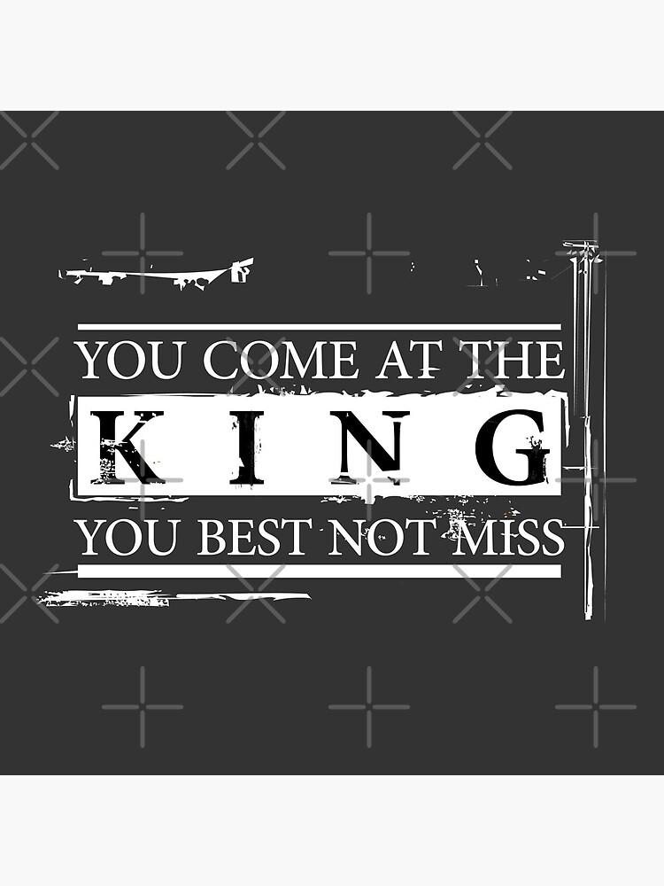 """""""Du kommst zum König, du bist am besten nicht"""" - The Wire (Light) von WitchDesign"""