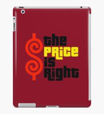 Price Is Right Merchandise iPad Case/Skin