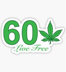 60 Tree New Hampshire Sticker