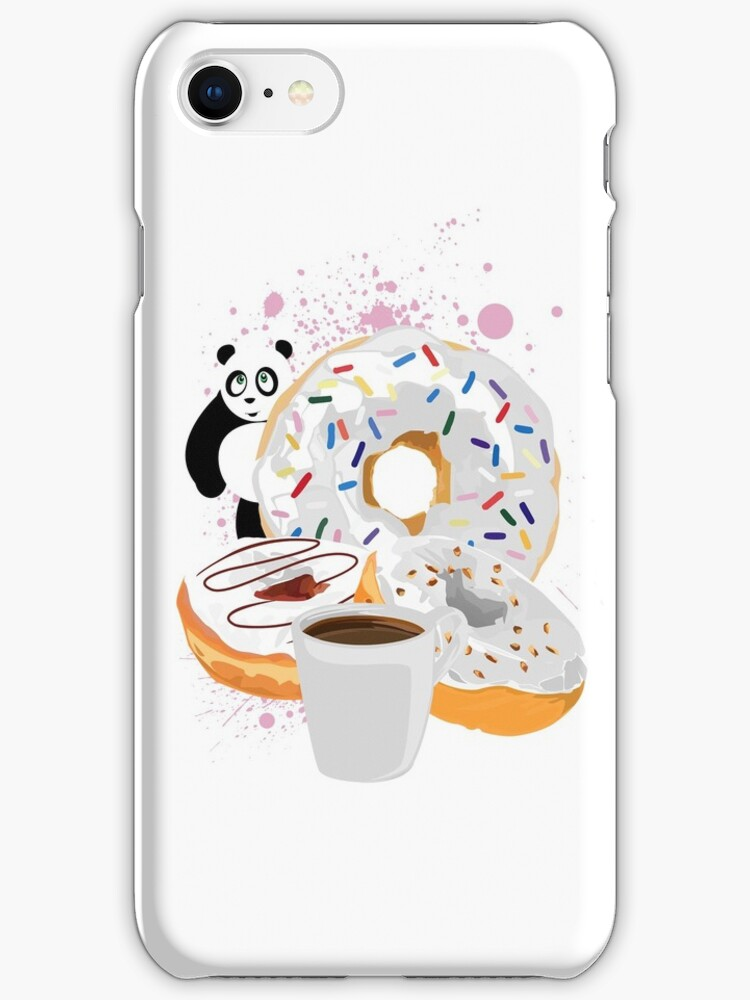 Panda & White Donuts by Adam Santana