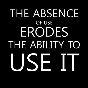 The Absence Of Use Erodes by jeffreylr