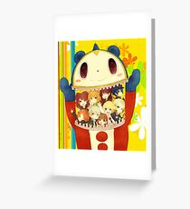 Persona 4 Greeting Card