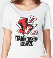 Persona 5 Shirt Women's Relaxed Fit T-Shirt