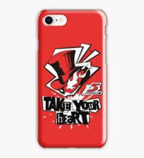 Persona 5 Shirt iPhone Case/Skin