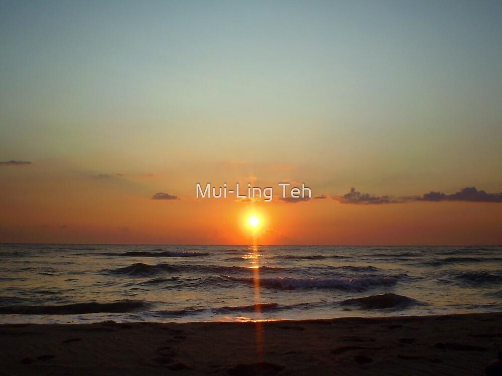 Paestum Sunset by Mui-Ling Teh