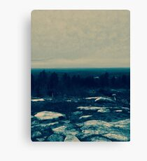 Frozen Earth Canvas Print