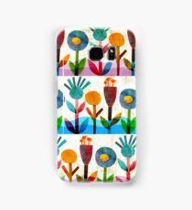 Summer flowers Samsung Galaxy Case/Skin