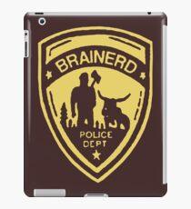 Brainerd Police Yellow iPad Case/Skin
