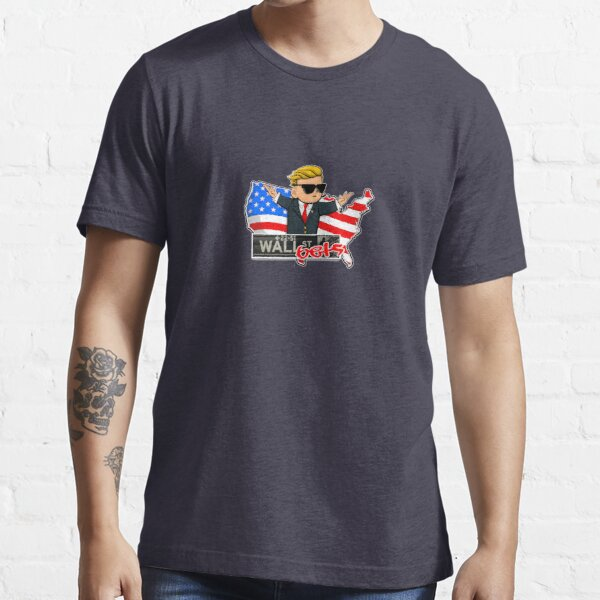 The Official WallStreetBets USA Edition Merchandise Essential T-Shirt